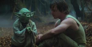 Maestro Yoda e Luke - L'impero colpisce ancora